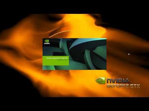 Default Nvidia custom/clean display driver install