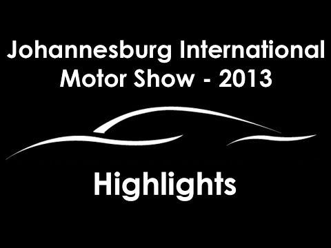 Johannesburg International Motor Show, 2013 - After Movie (Highlights)