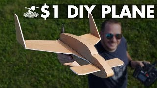 $1 DIY Airplane | FT LongEZ