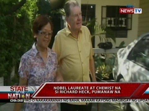 SONA: Nobel Laureate at chemist na si Richard Heck, pumanaw na