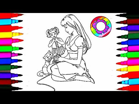 coloringpagesbarbie tagged clips and videos ordered by