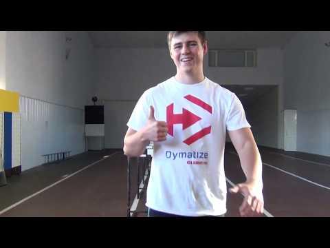 Good multi jump! Skeleton sport athlete Vlad Geraskevych (Ukraine)