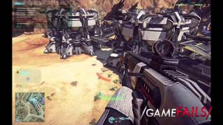 "Game Fails: Planetside 2 ""Skipping stone"""