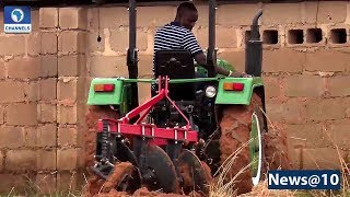 24-Year-Old Nigerian Builds Tractors, Farm Machineries