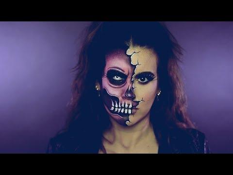 Halloween | Two Faced Skull thumbnail
