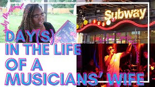 Day(s) in the Life of a MUSICIAN'S WIFE | Daily Devotion, Date Night & Friday Night Showcase