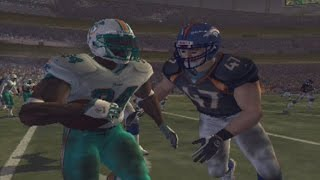 MADDEN 2005 ps2 gameplay- STATS VS CHAMPIONSHIPS FOR LEGACY- RETRO GAME OF THE DAY