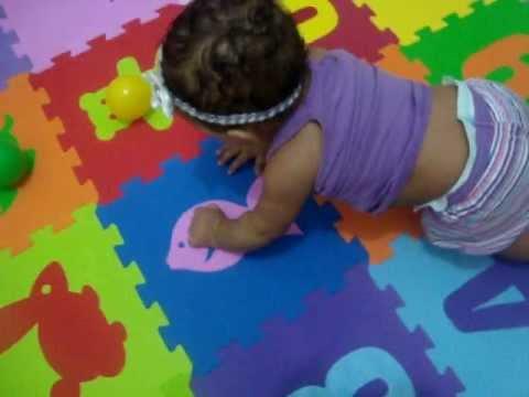 80b34998d Tapete emborrachado para bebê - YouTube