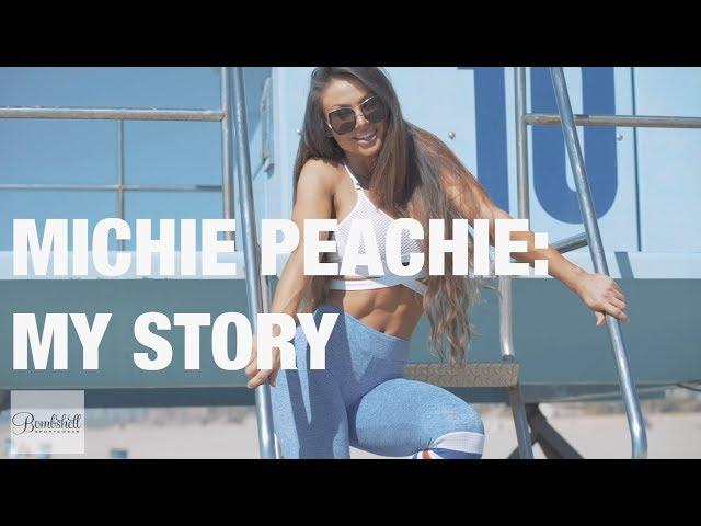 Bombshell Sportswear Athlete Michie Peachie