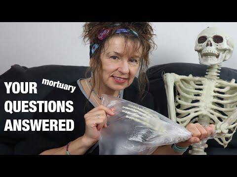 Treating skin slip and more mortuary talk