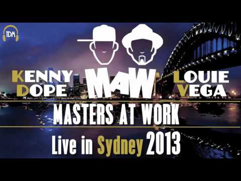 Masters at Work (Kenny Dope & Louie Vega) Live in Sydney 2013