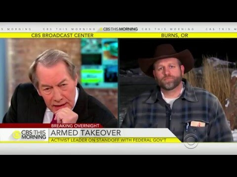 CBS Anchors Subtly Threaten To Kill Ammon Bundy During Live Interview!