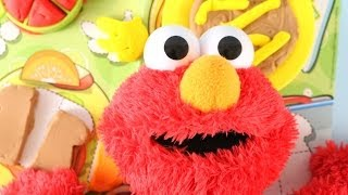 Sesame Street Elmo Eats Pizza Play Doh 1-2-3 Lunch Box Play Dough Food