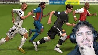 OLHA ISSO! TESTE DE VELOCIDADE NO FIFA 2005!!!