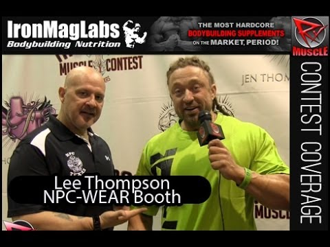 NPC Wear Booth with Lee Thompson 01