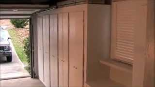 'Building rather than Buying' Garage Storage Cabinets