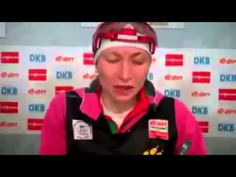 Sochi 2014 - Darya Domracheva Wins Gold Medal - Sochi 2014 14.02.2014