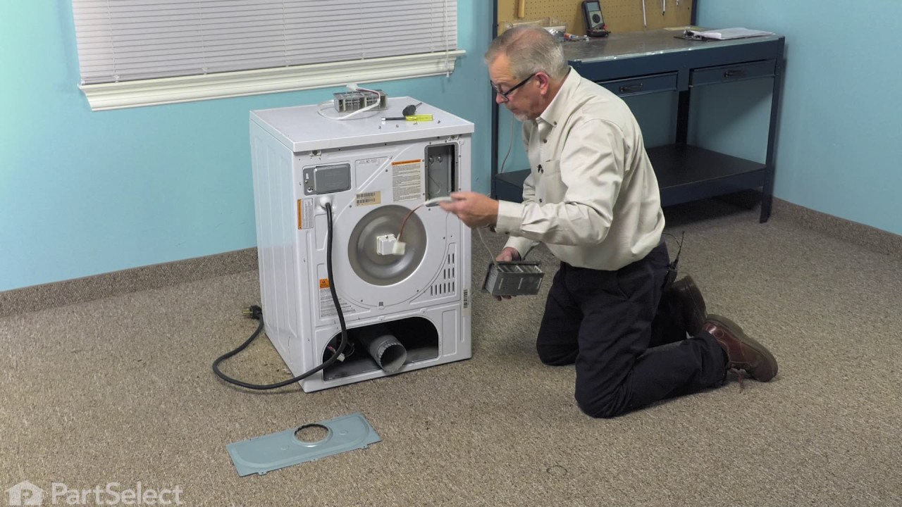 dryer repair replacing the heating element whirlpool part wp34001073  [ 1280 x 720 Pixel ]