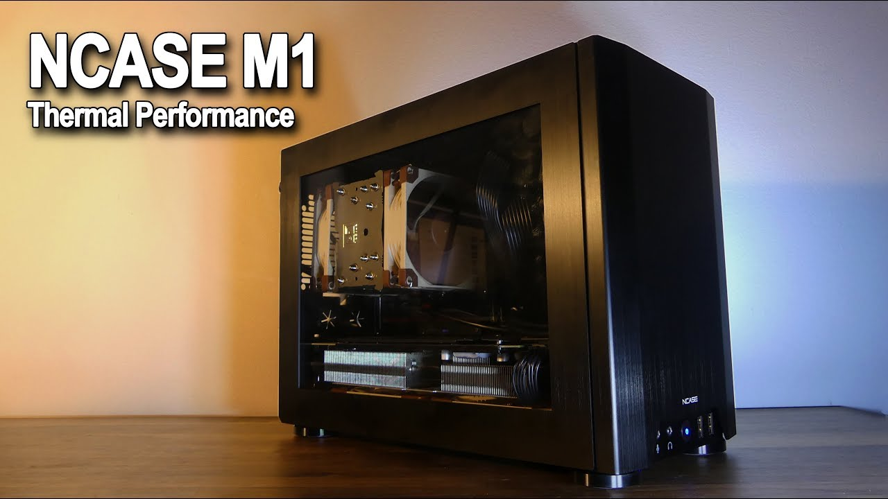 NCASE M1 Build - PART 1 (Black + Noctua Build) by Moofier