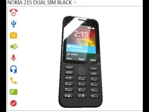 [NEW] Nokia 215 Dual Sim Black Overview