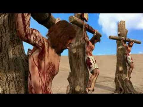 Jesus es colocado en la cruz Lucas 23 3243  YouTube