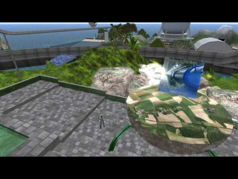 Virtual Worlds Overview Video for a Science Review