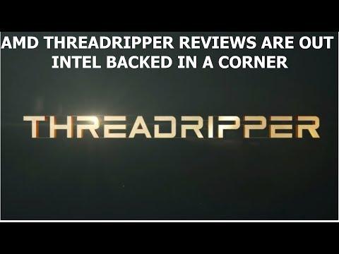 AMD'S THREADRIPPER DESTROYS INTEL CORE i9-7900X - INTEL, HOW DOES THE GLUE TASTE?