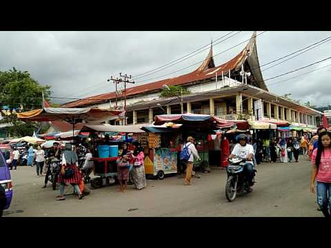 Padang Central Market. West Sumatra