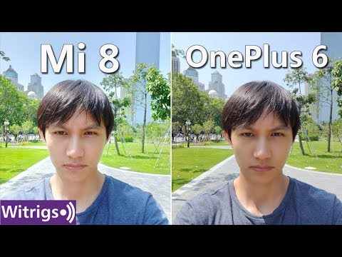 OnePlus 6 Vs Xiaomi Mi 8 Camera Test | Camera Review | Low Light Photo Comparison