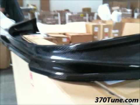 Z34 370Z Mines Carbon Front Lip Spoiler