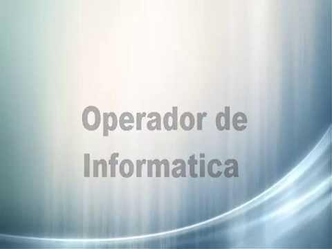 8d7dbbf3b3661 operador de informatica - principais ferramentas informaticas na otica do  utilizador