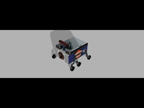 Designing a Space Rover (Rocker Bogie mechanism) using Autodesk Fusion 360