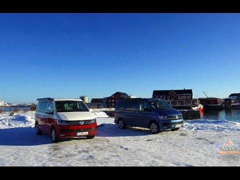Volkswagen T6 California Trip to the Lofoten Islands