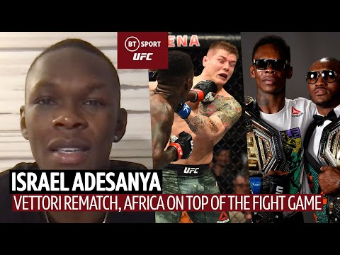 """""""I want that finish!"""" Israel Adesanya explains beef with Marvin Vettori ahead of rematch at UFC 263"""