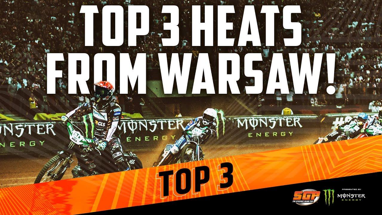 Top 3 Speedway GP Heats from Warsaw! 🔥 | FIM Speedway Grand Prix