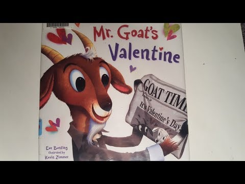 Silly Books - Mr Goat's Valentine by Eve Bunting