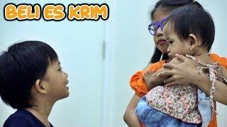 Drama Mama Rempong & Bayi Lucu Belanja | Main Jual Jualan Es Krim Milo Cup, Cone & Ice Cream Walls