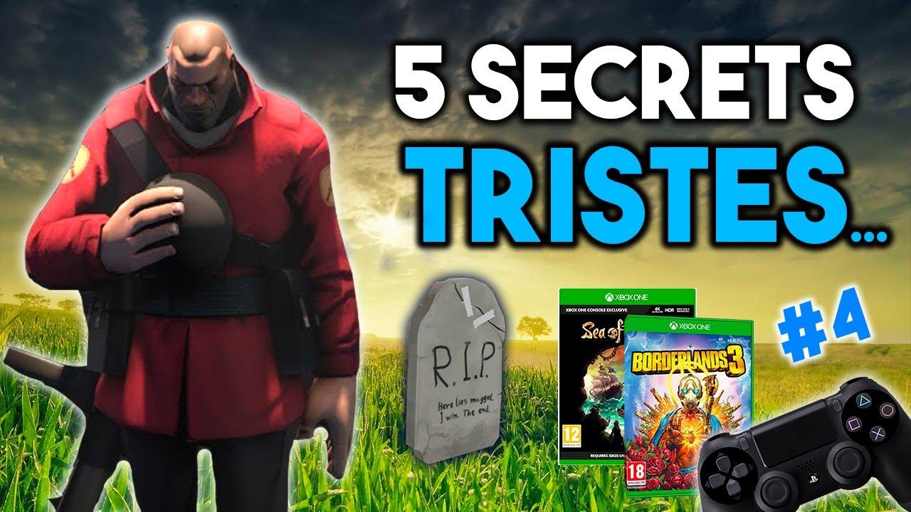 5 SECRETS LES PLUS TRISTES du jeu vidéo...#4
