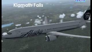 FS2004 Video - Alaska Airlines KOAK - KSEA