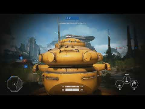 AAT IS AMAZING! Star Wars Battlefront 2 Galactic Assault Gameplay