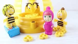 Maşa Arı Maya Ve Willy Kraliçe Arının Kovanından Toybox Alıyor Eğlenceli Oyunlar Ve Oyuncaklar