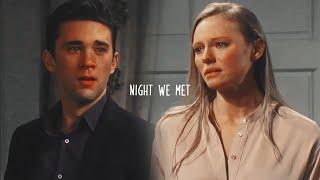 Chad/Abby || night we met