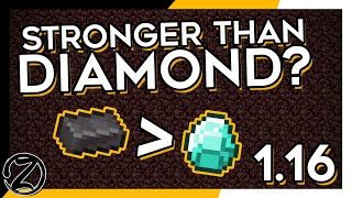 NETHERITE BETTER THAN DIAMOND? Minecraft Nether Update Snapshot First Look