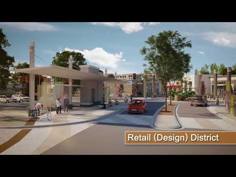 Seton Calgary Virtual Tour  - Retail (Design) District
