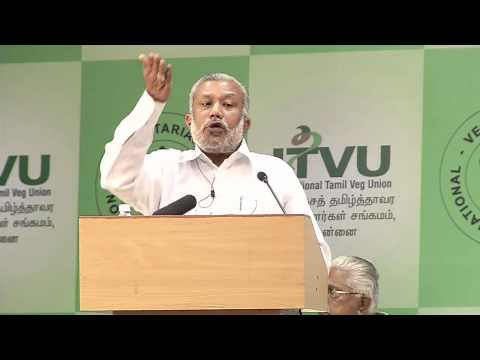 IVU 42nd world veg fest at chennai - Dr Husen speech