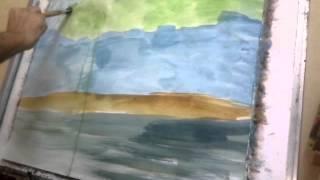 Mangrove Painting Trees Modern