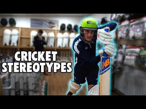CRICKET STEREOTYPES: THE AWFUL SHOPPER RETURNS