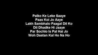 Download Kal Ho Na Ho lirik