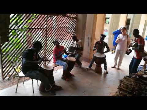 Dancing in Ouagadougou