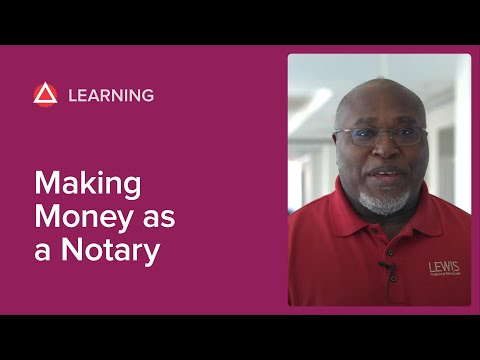Making Money As A Notary: 5 Surefire Tips
